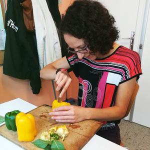 Atelier cuisine - Poivron farcis