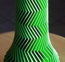 Vase Design & Décoration rond/vert