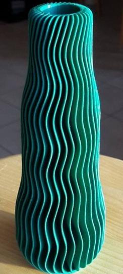 Vase Design & Décoration vert foncé