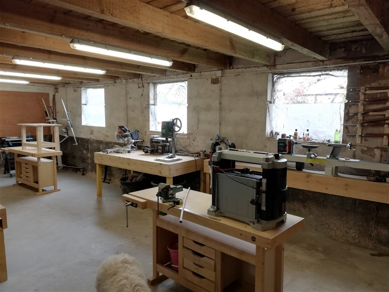 Local Atelier ou se déroule les activité de Conception & réalisation